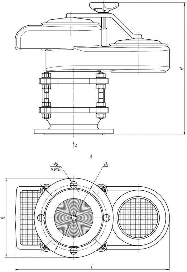 Клапан КДМ К2 вид