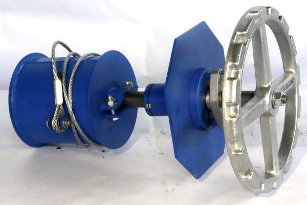 Механизм управления боковой МУ 1 Поршень