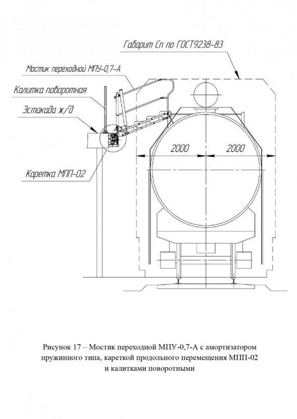 Мостик МПУ-0,7 с МПП общ. вид