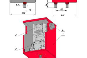 Счетчик топлива бензовозов ST-50