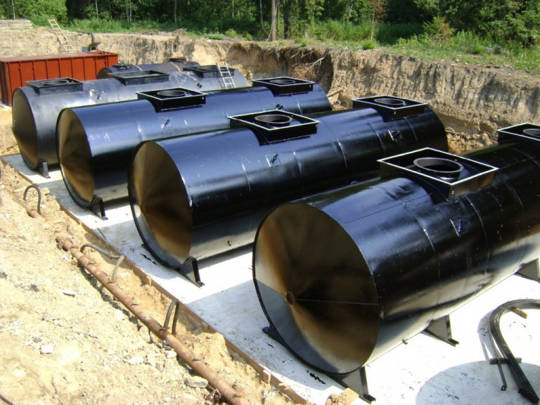 Резервуар подземный РГС