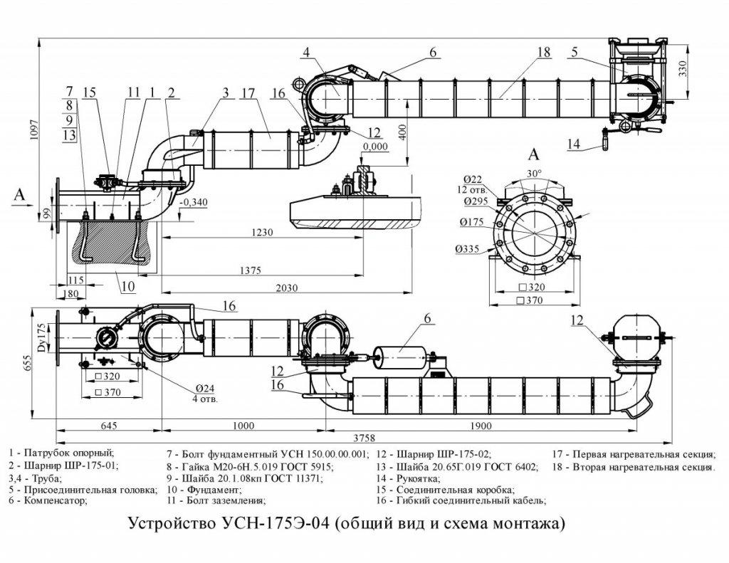 УСН-175Э-04 общ. вид