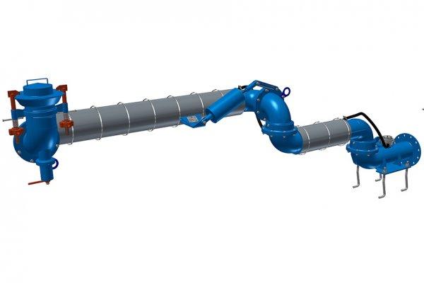 УСН-ГЭ с гидромонитором и электрообогревом