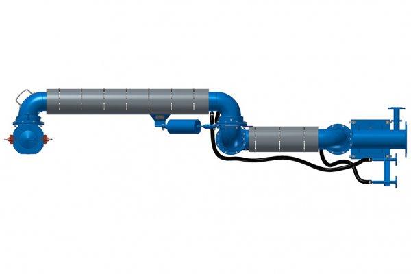 УСН-ГП с гидромонитором и пароподогревом
