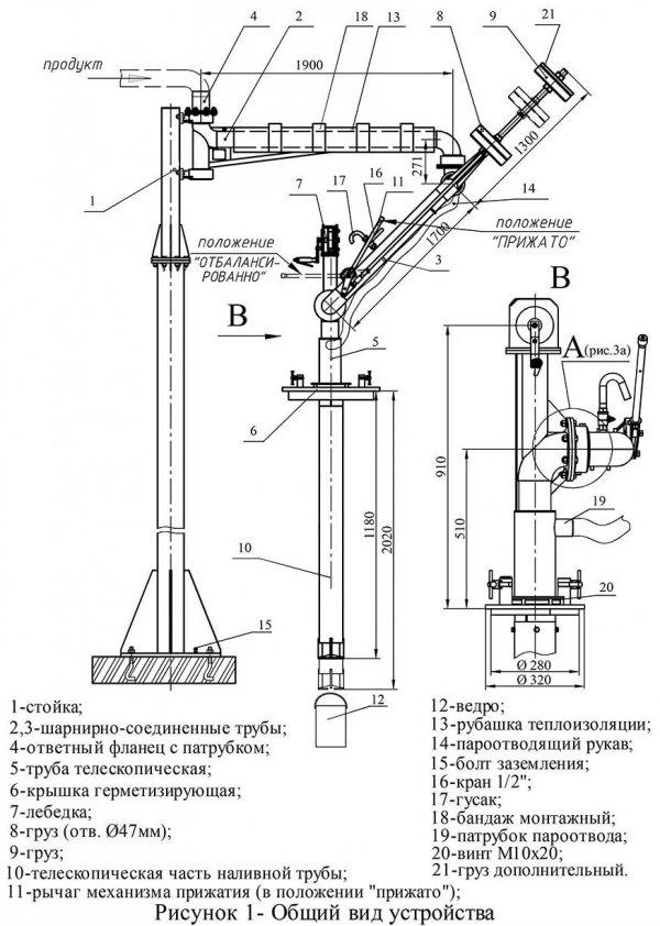 Устройство АСН-100-09 общий вид