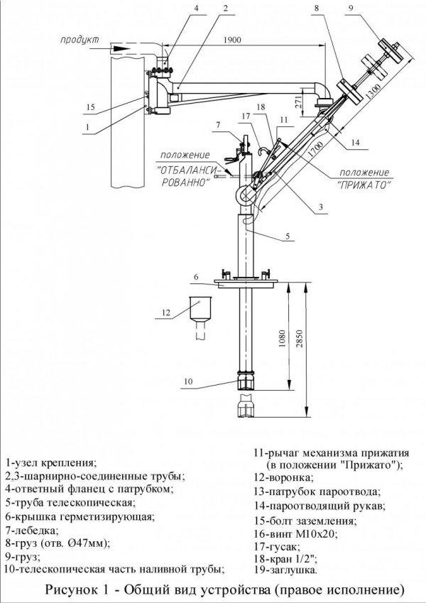 Устройство УНЖ6-100-08 общ. вид