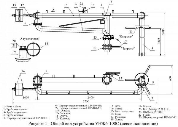 Устройство УНЖ6-100С общ. вид