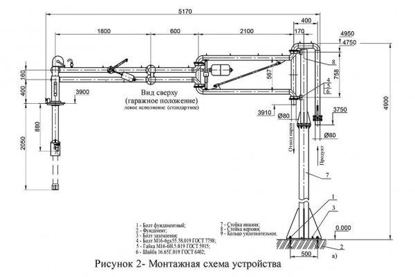 Устройство АСН-80-02 схема монтажа