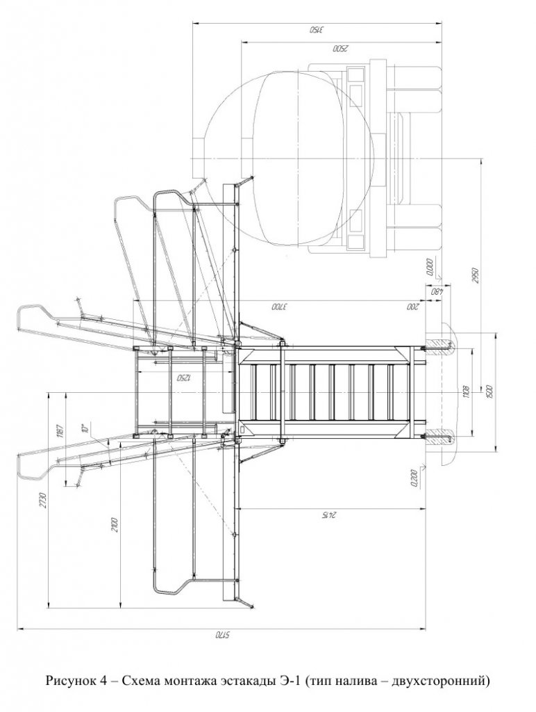 Эстакада Э-1 двухсторонняя