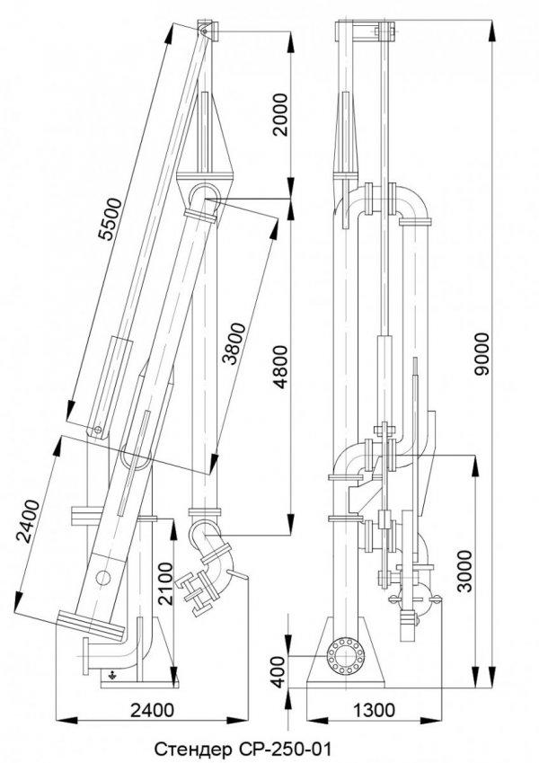 Стендер СР-250-01 общ. вид