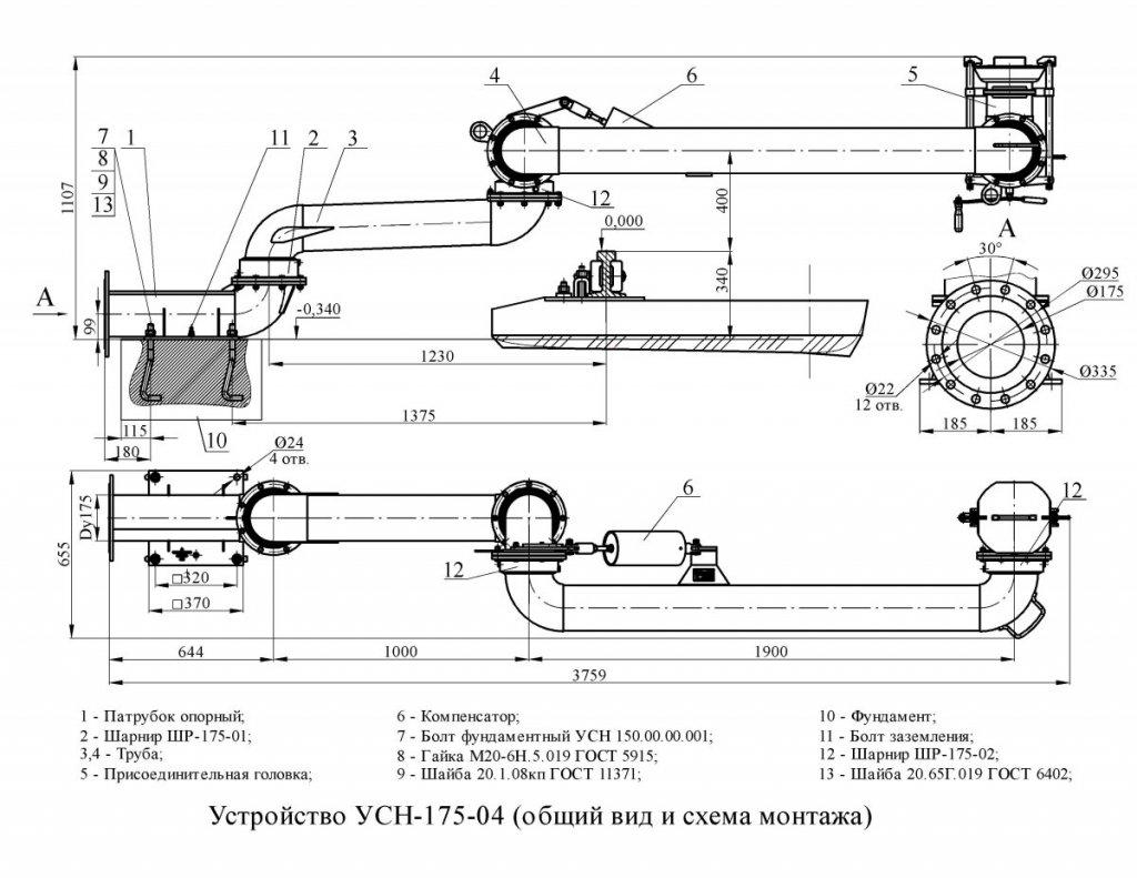 УСН-175-04 схема