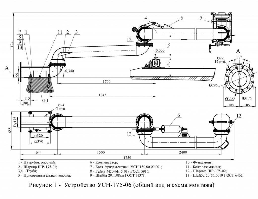 УСН-175-06 схема