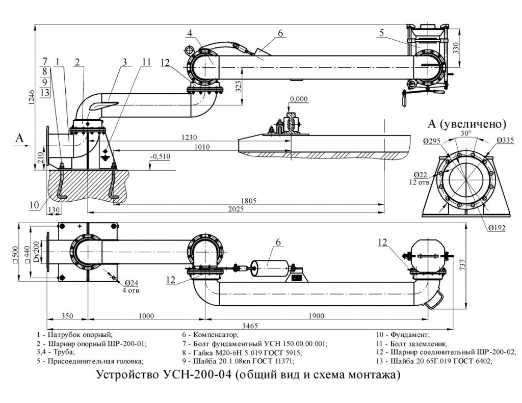 УСН-200-04 схема