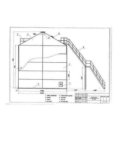 Схема вертикальных резервуаров4