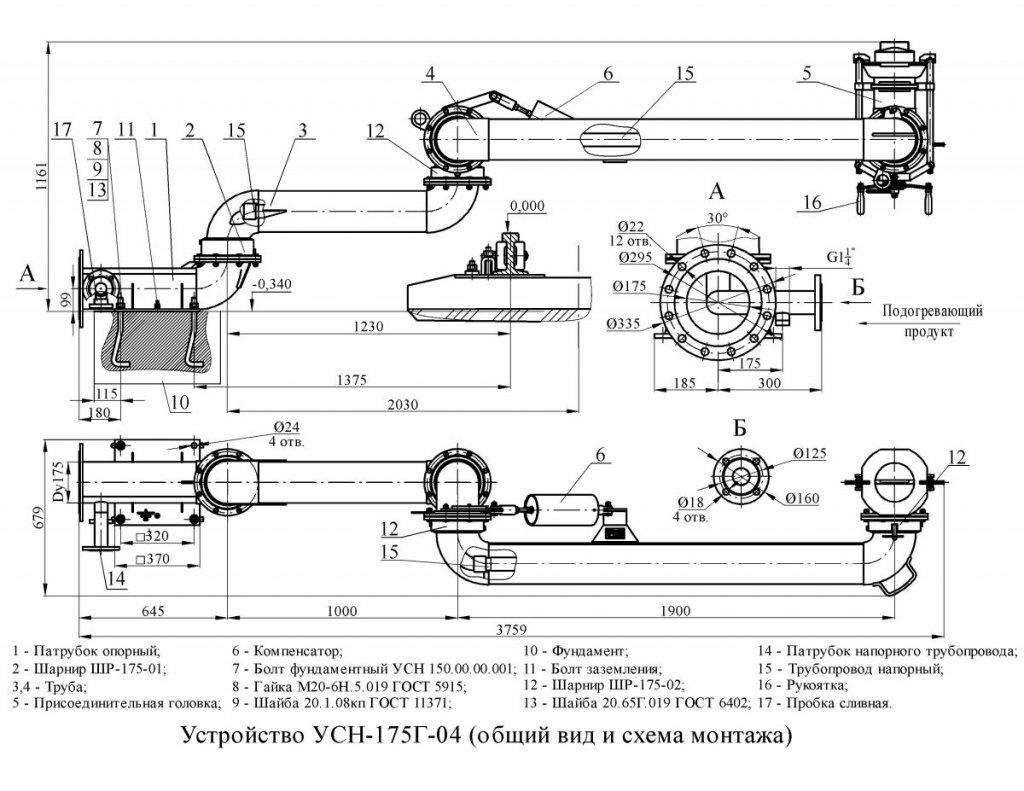 УСН-175Г-04 общ. вид