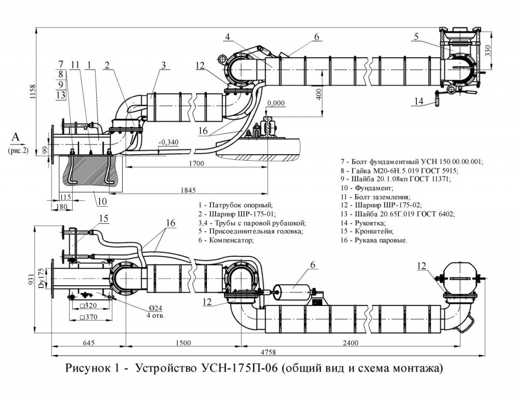 УСН-175П-06 общ. вид