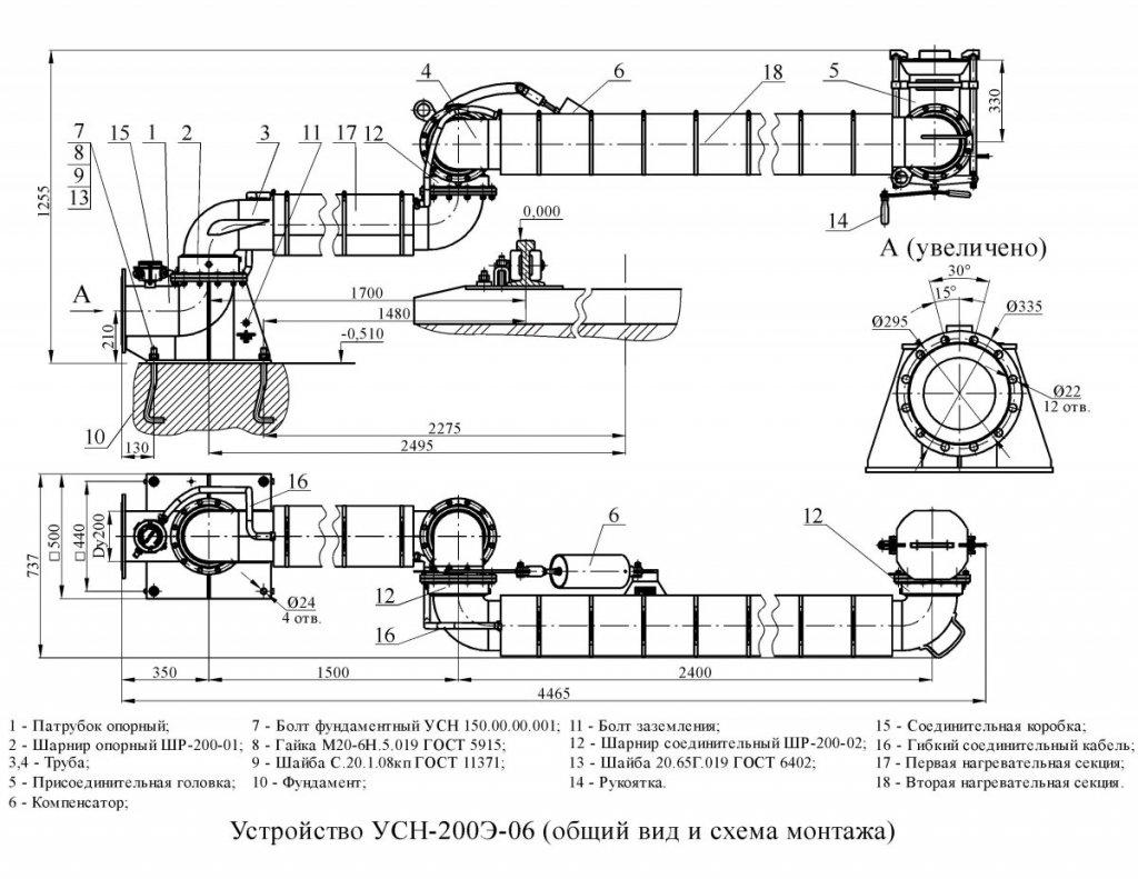 УСН-200Э-06 общ. вид