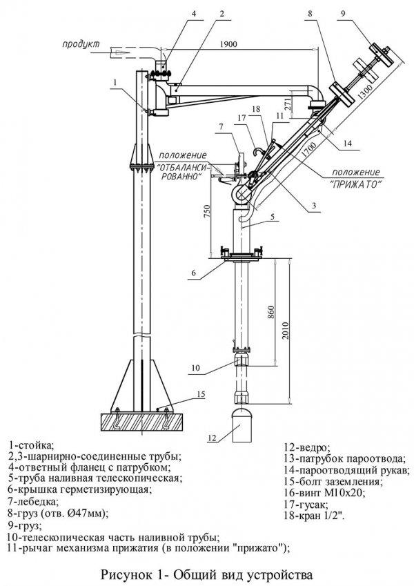 Устройство АСН-100-08 общий вид